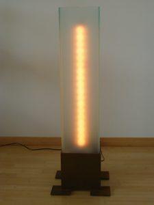 Stele mit LED